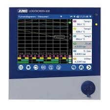 Paperless Chart Recorder Price Jumo Logoscreen 600 6 Channel Paperless Chart Recorder Measures Current Humidity Resistance Temperature Voltage