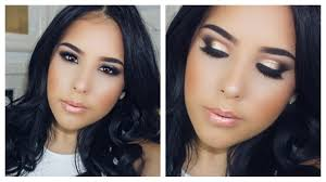 night out spring makeup look collab w superashley127