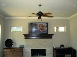 fireplace installer mounted wall install tv on mount above hide wires how to stone smlf