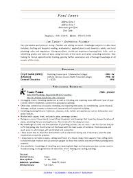 Plumber Resume download master plumber resume sample as image file master 73