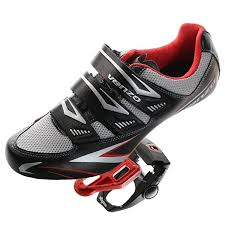 Details About Venzo Road Bike For Shimano Spd Sl Look Cycling Bicycle Shoes Pedals Black
