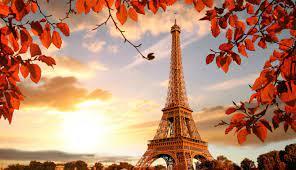 1336x768 Eiffel Tower in Autumn France ...