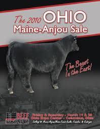 Ohio Maine Anjou Assoc Sale By Craig Reiter Issuu