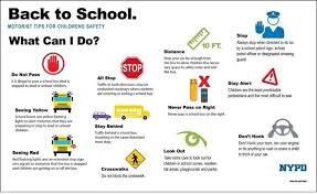 School Safety Rules Chart Nypd Launches New School Bus Safety Initiative