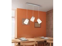 Led Pendelleuchte Stoff Lampenschirme Schwenkbar Weiß B 80cm Esstischlampen