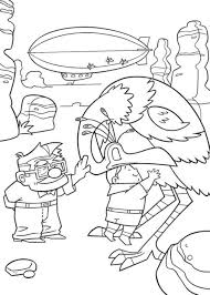 Small Picture Up Coloring Pages Free Printable Cartoon Coloring pages of