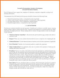 Chemistry Lab Report Example Scribd