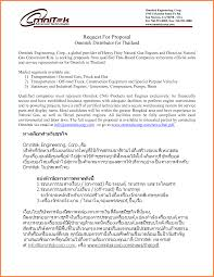 Business Sample Proposal Sample Cover Letter For Business Proposal