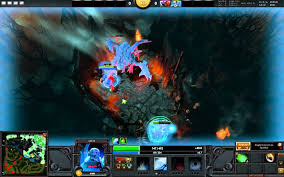 dota 2 roshan level 1 with 2 heroes ursa lich fast roshan