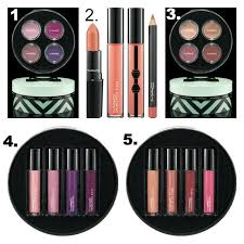 m a c cosmetics haul gift guide 2016