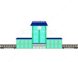 railway station stock photo mayboro