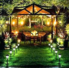 How To Hang String Lights In Backyard Without Trees New Extraordinary How To Hang String Light Without Tree In Backyard