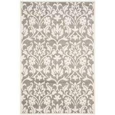 amherst dark gray beige 5 ft x 8 ft indoor outdoor area