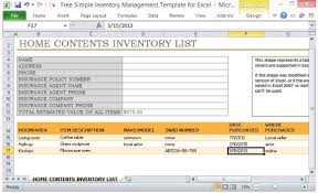 Inventory Management In Excel Free Simple Inventory Management Template For Excel