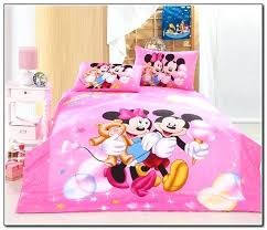 minnie mouse 4 piece toddler bedding set mouse toddler bed sheets page home furniture within