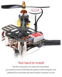 dji naza m lite multirotor gyro system w gps helipal one box does it all
