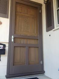 surprising wooden screen door plans images ideas house design