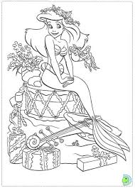 Free Printable Disney Princess Christmas Coloring Pages