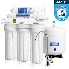Home Ro Water Systems Reverse Osmosis Systems Apec Premium Ro Drinking Water Filters