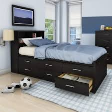 twin storage bed. Delighful Bed Twin Storage Bed With Bookcase Headboard To Storage Bed