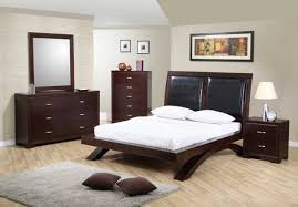 Lacquer Bedroom Furniture Queen Bed Furniture Set With Lacquer Finished Home Interior