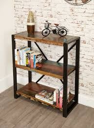 sditch rustic low bookcase reclaimed wood