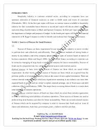 sample on finance in hospitality industry by instant essay writing 9 4