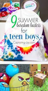 best ideas about teen summer activities summer 9 summer boredom busters for teen boys
