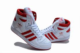 adidas shoes high tops red. white and red adidas shoes high tops