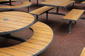 table deck wood floor seat patio furniture hardwood out gastronomy outside catering beer garden flooring wood