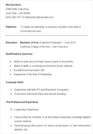 sample resume for college college resume examples college student resume examples faculty