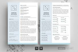 Modern Resume Template For Indesign Free Download Behance
