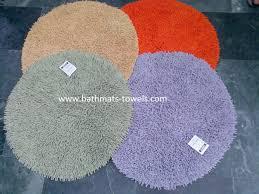round bathroom rugs decoration in round bath rugs
