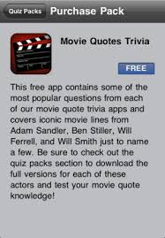 Movie Quote Trivia Delectable Movie Quotes Trivia On The App Store