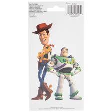 buzz lightyear woody toy story decal