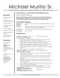 Technical Support Engineer Resume Sample Tech Support Engineer