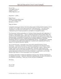 Cover Letter Sample Cover Letter Teaching Sample Cover Letter