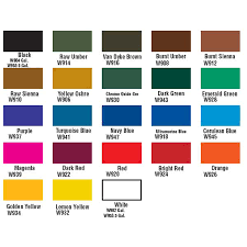 Rosco Paint Color Chart Related Keywords Suggestions