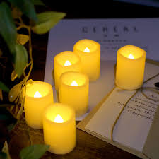 5 Hour Tea Light Candles Optional 5 Hour Daily Cycle Timer You Can Set 5 Hour Timer