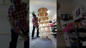 diy lazy susan shoe rack