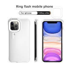 Đèn LED Flash Vòng Đa Năng Selfie Đèn Di Động Điện Thoại Di Động Dành Cho  iPhone 12 11 Pro Max Cho iPhone 7 8 plus X/XS iPhone XR