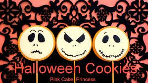 Jack Skellington Decorations Halloween Halloween Cookies Cupcakes Treats How To Decorate Jack