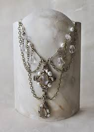 How To Make Jewelry Stands And Displays Cool Handmade Display Stands For Necklace My Closet Pinterest