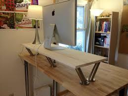 stand up office desk ikea. Standing Up Office Desk Elegant Diy Stand Ikea Design Decoration