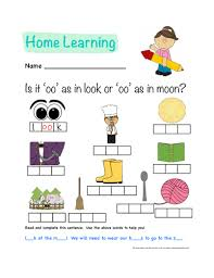 250 free phonics worksheets covering all 44 sounds, reading, spelling, sight words and sentences! Phonics Homewoork Oo Sound Worksheet Teaching Resources