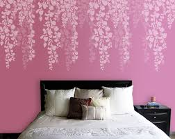 stencil bedroom wall on wall art stencils uk with stencil bedroom wall kemist orbitalshow