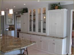 Hutch Kitchen Furniture White Kitchen Hutch Cabinet Home Design Ideas