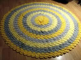 image of round area rugs nursery