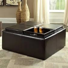 coffee table ottoman coffee table ottoman features four reversible cushion tops for a combined table surface