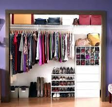 closet maid closet organizer closetmaid shelftrack closet organizer kit 5 to 8